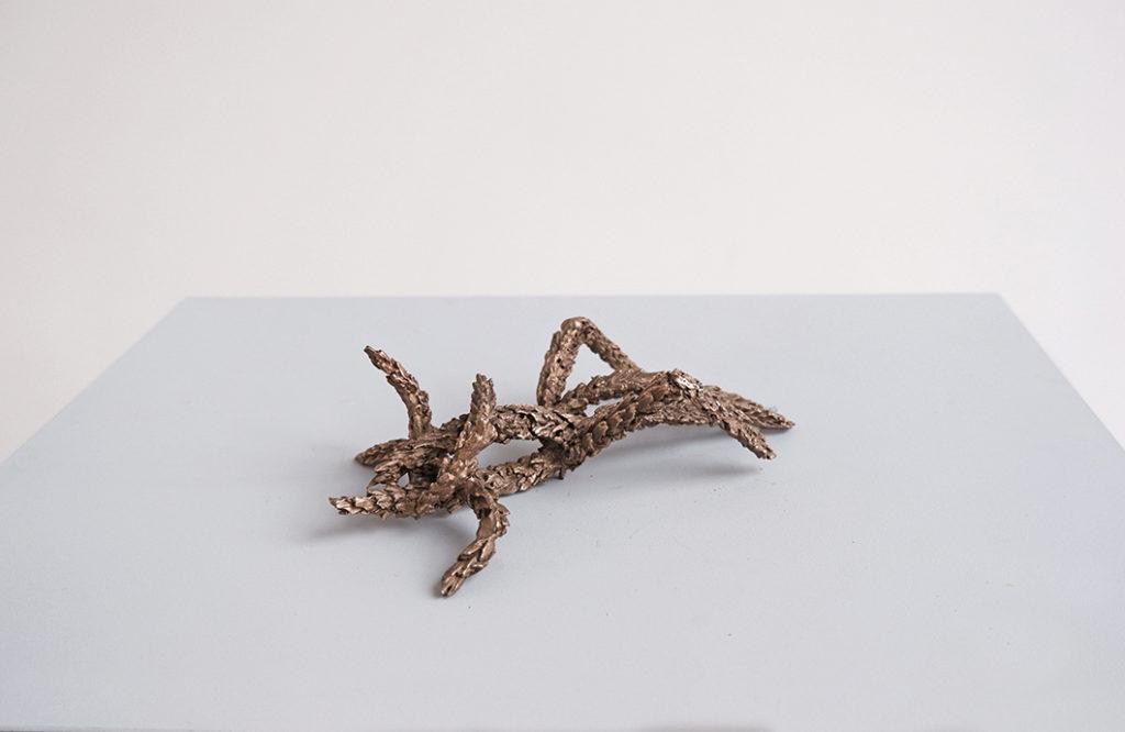 Kamasutra (detail), bronze, 2020