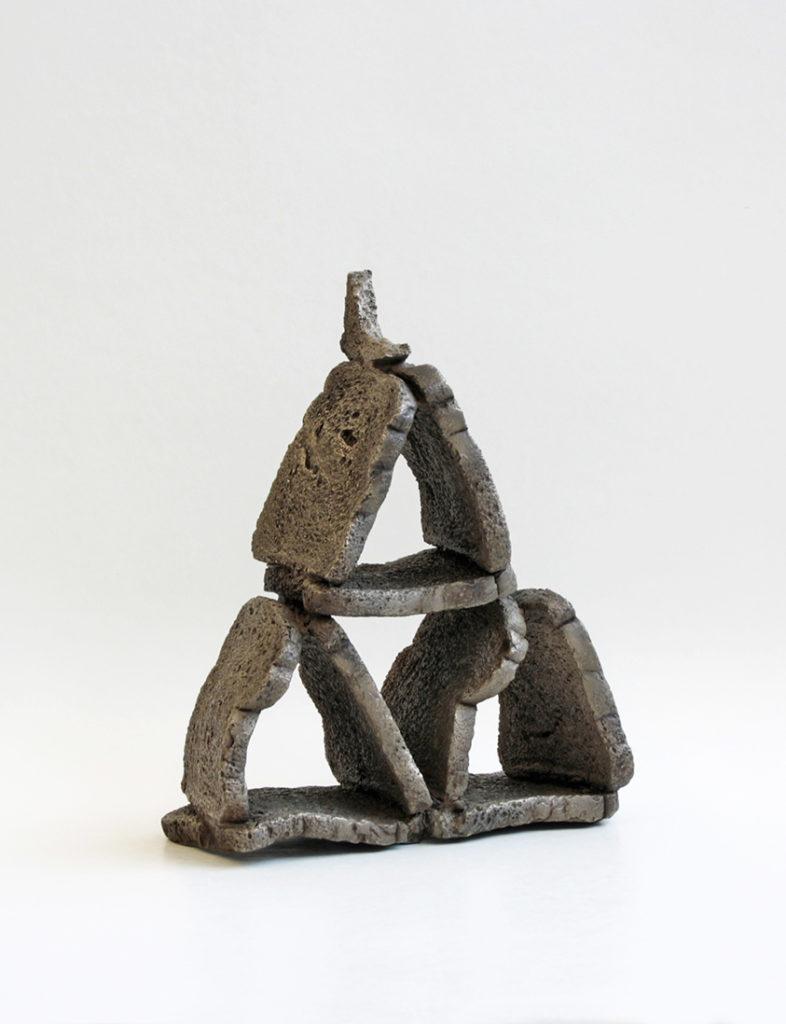 Great pyramid, bronze, 2018