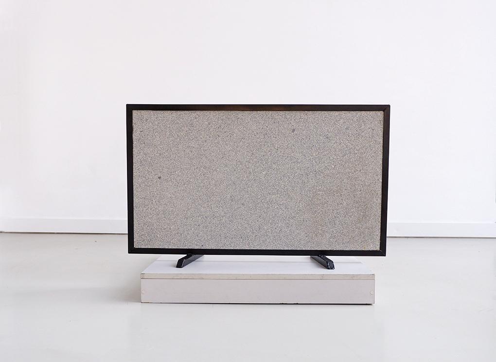43 inches, granite, steel, 2019